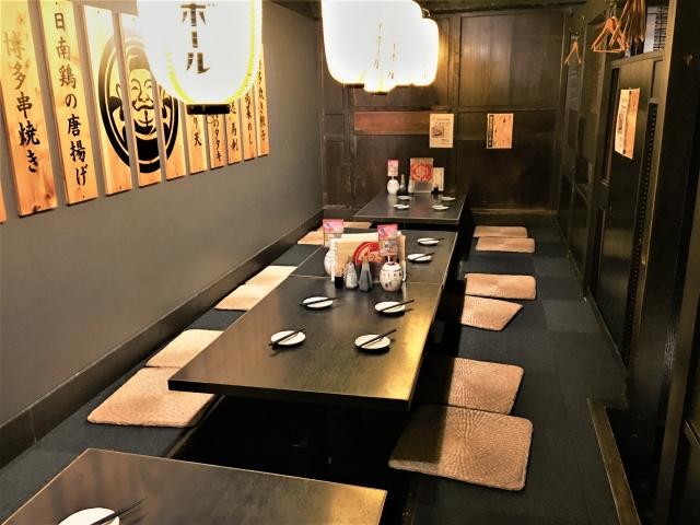 飲食店開業資金0円~居抜き間借物件 新馬場居酒屋1