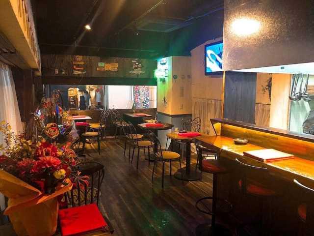 間借り飲食店の店舗物件情報「京都市中京区河原町のカフェバー」