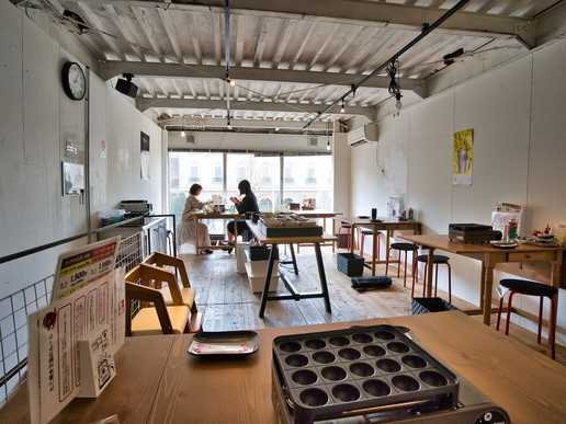 間借り飲食店の店舗物件情報の大阪市港区築港3丁目の粉もの業態店