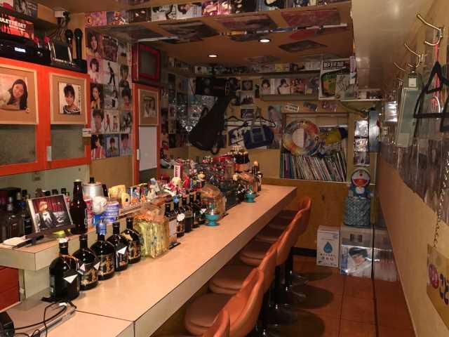 【間借り飲食店の店舗物件情報】東京都港区新橋3丁目のレトロなバーー